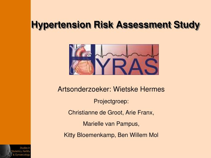 Hypertension Risk Assessment Study