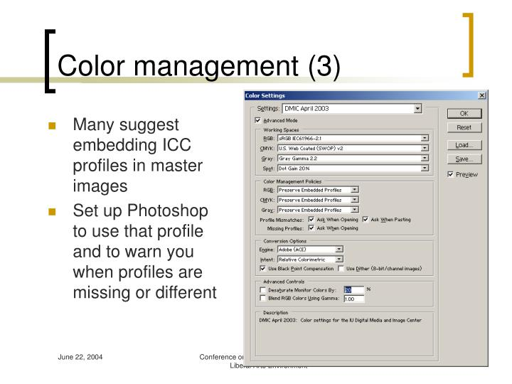 Color management (3)