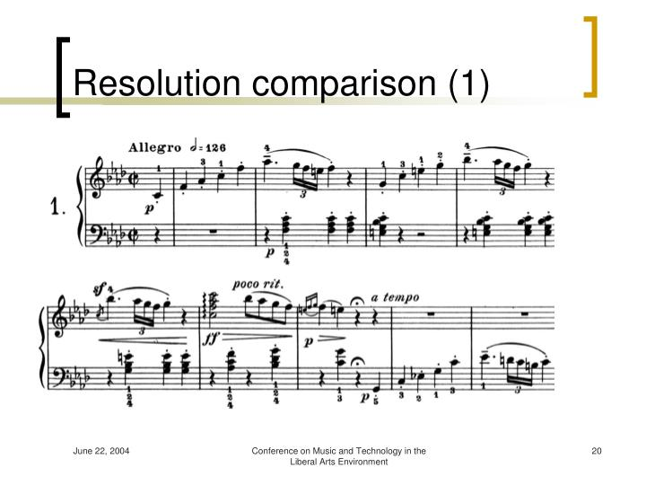 Resolution comparison (1)