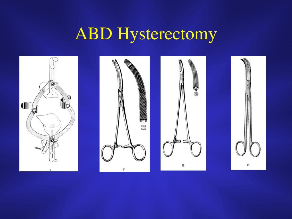ABD Hysterectomy