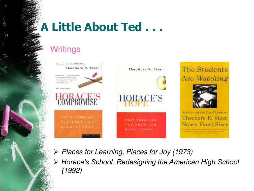 A Little About Ted . . .
