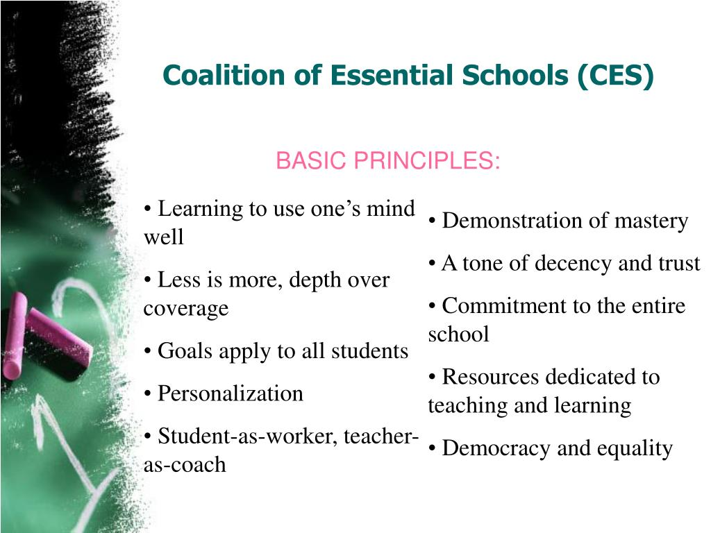 Coalition of Essential Schools (CES)
