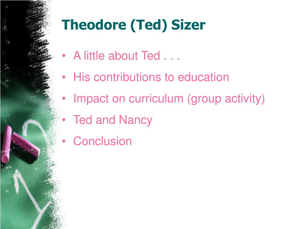 Theodore (Ted) Sizer