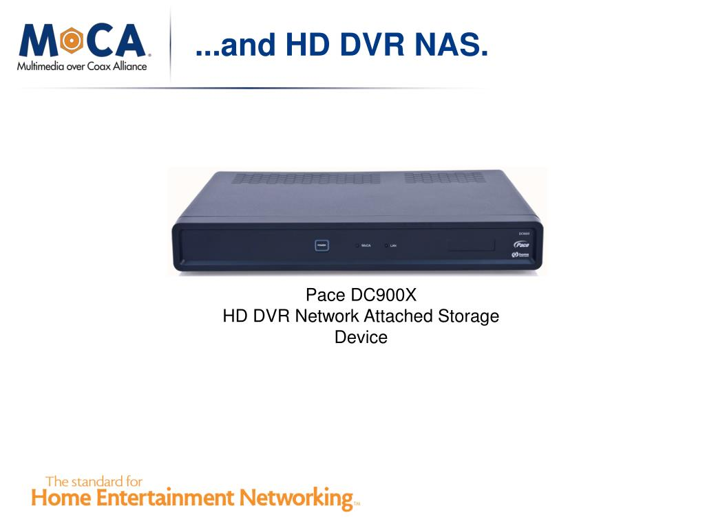 ...and HD DVR NAS.