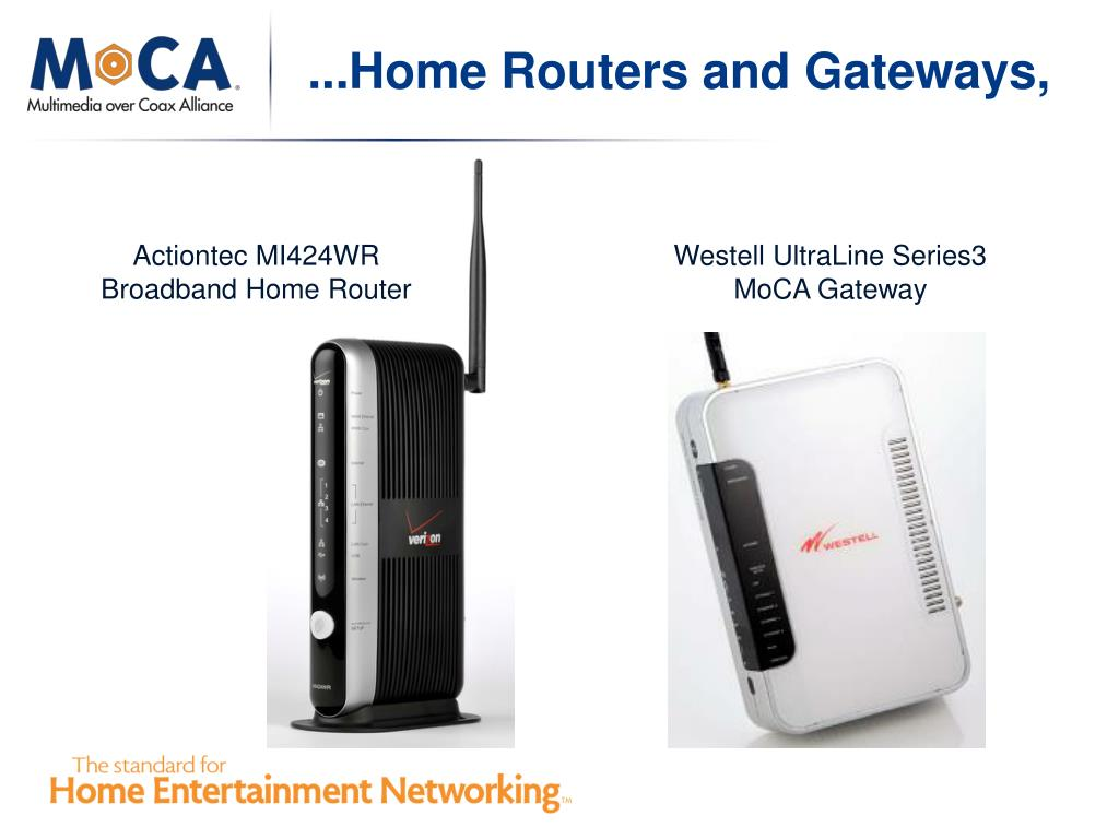 ...Home Routers and Gateways,