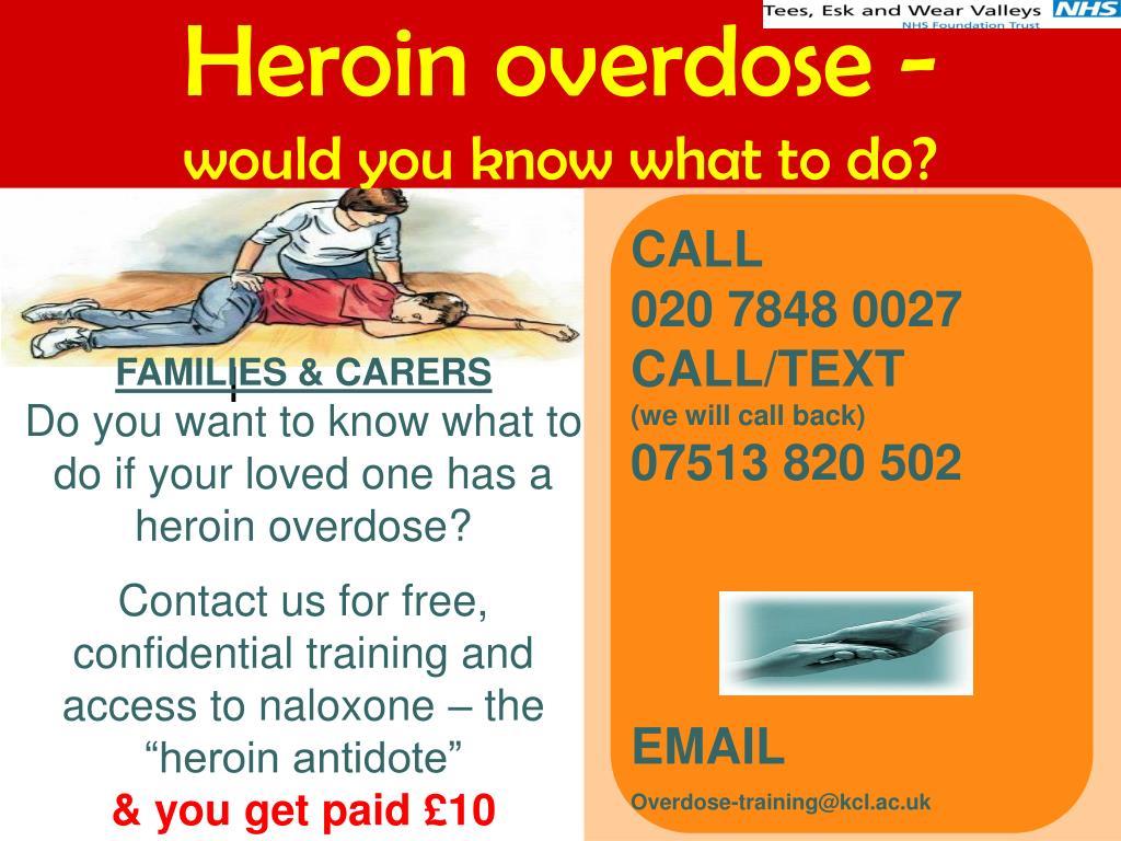 Heroin overdose -