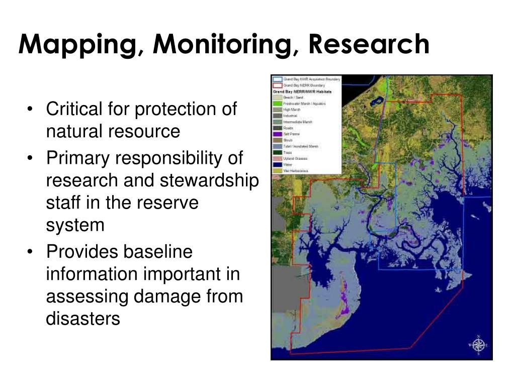 Mapping, Monitoring, Research