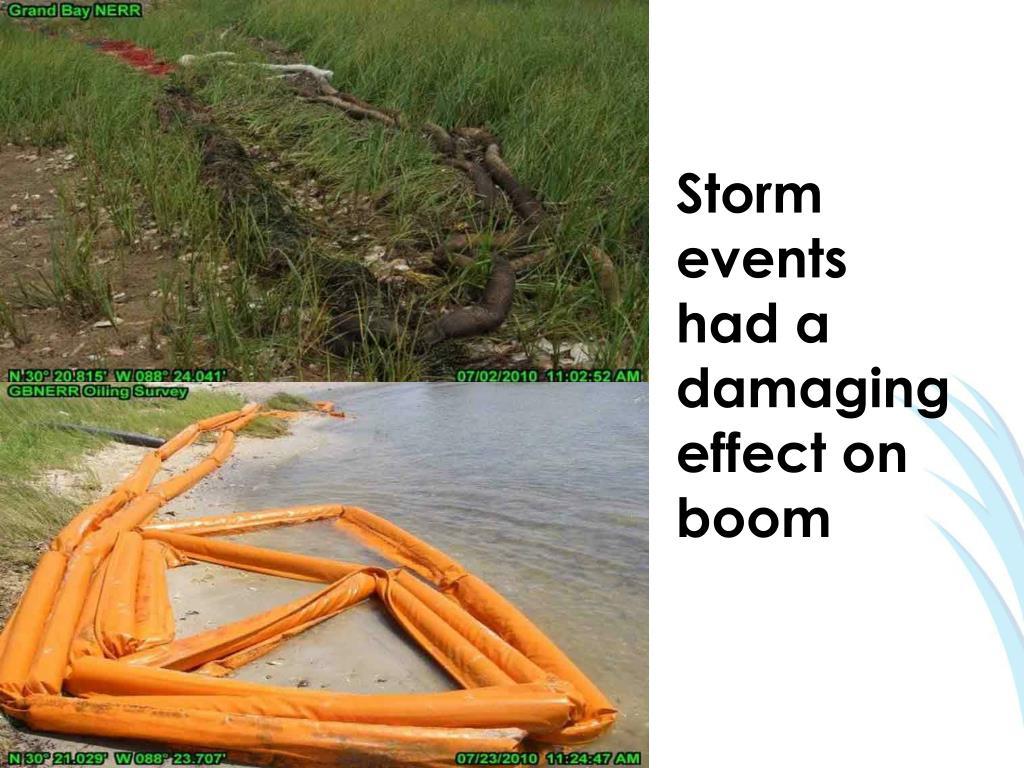 Storm events