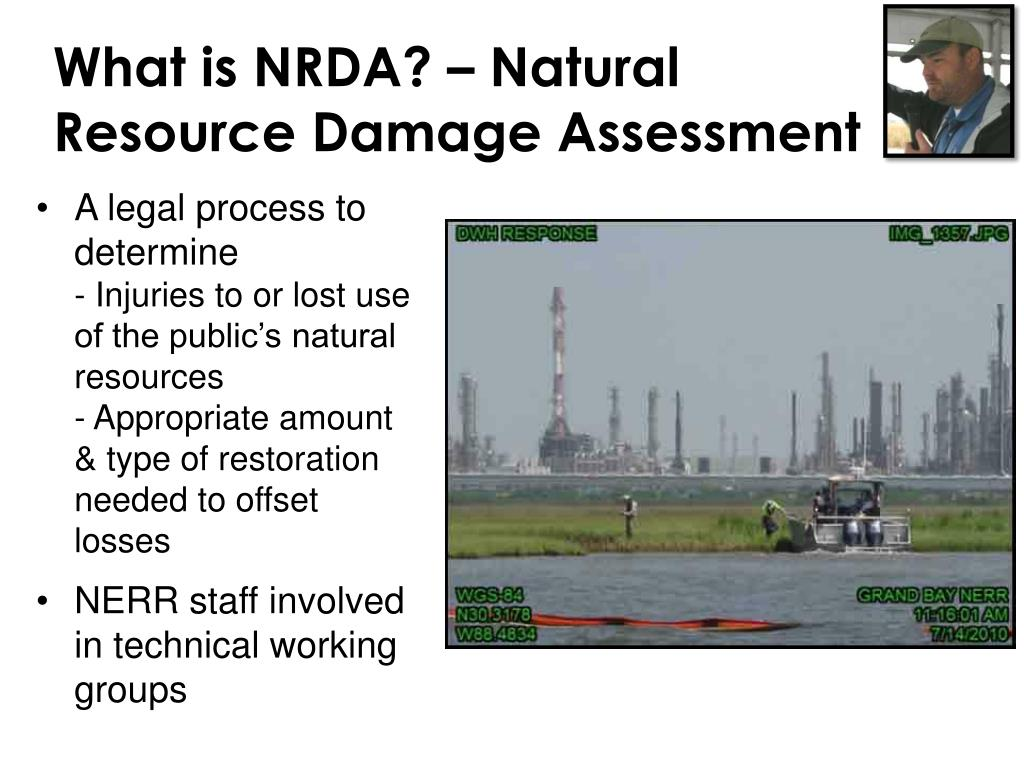 What is NRDA? – Natural Resource Damage Assessment