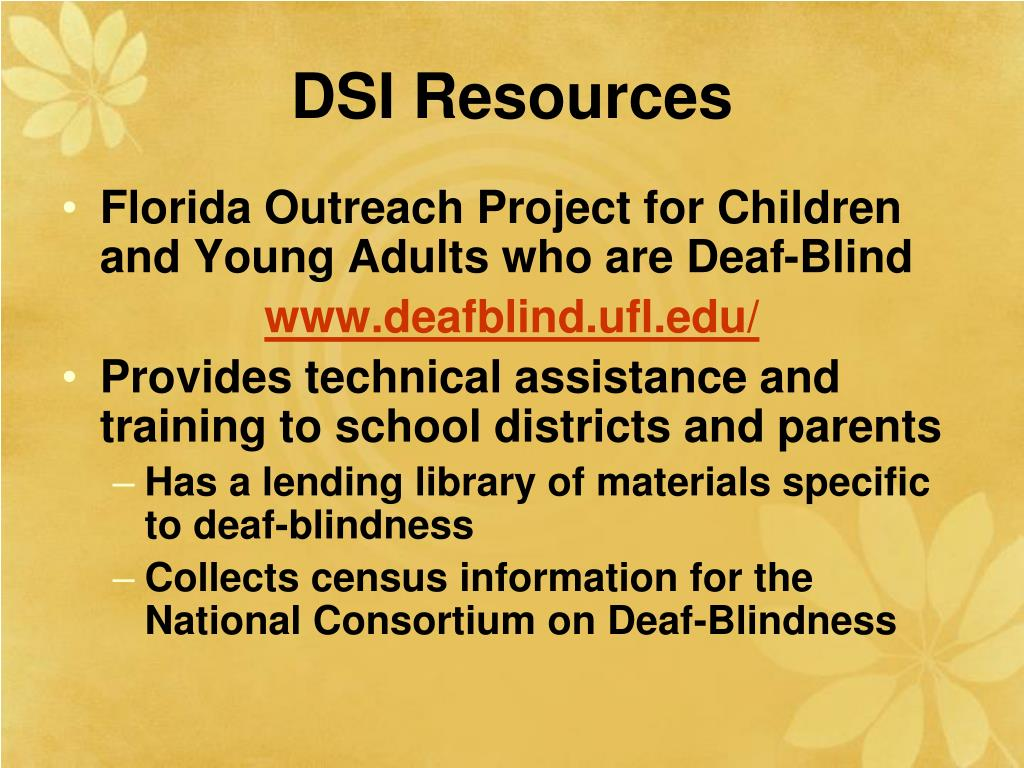 DSI Resources