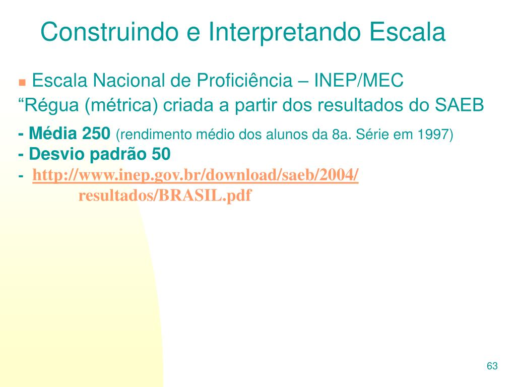 Construindo e Interpretando Escala
