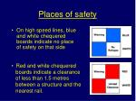 places of safety