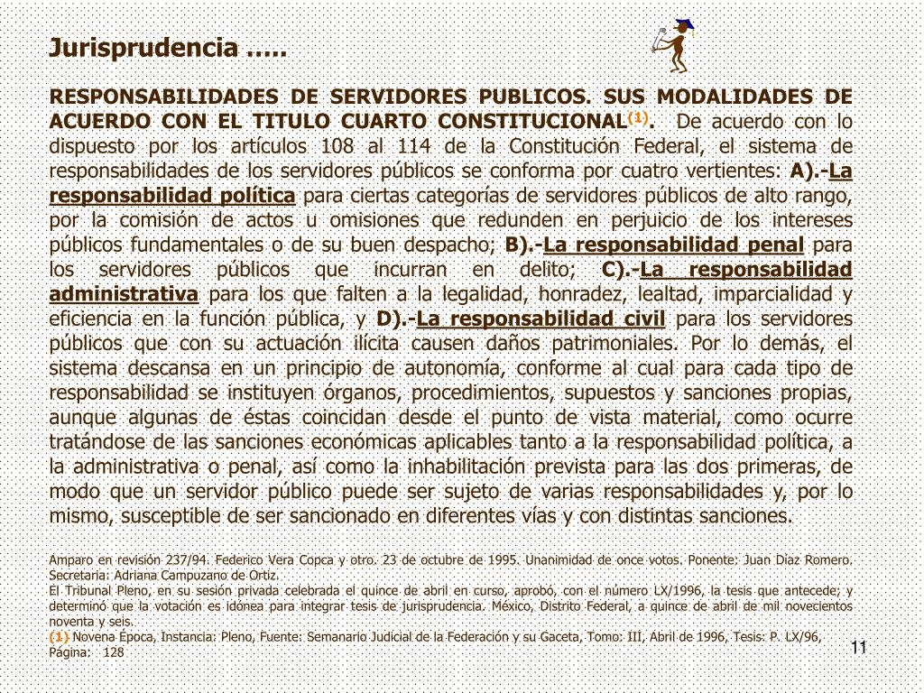 Jurisprudencia …..
