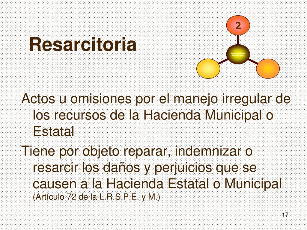 Actos u omisiones por el manejo irregular de los recursos de la Hacienda Municipal o Estatal