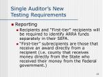 single auditor s new testing requirements23