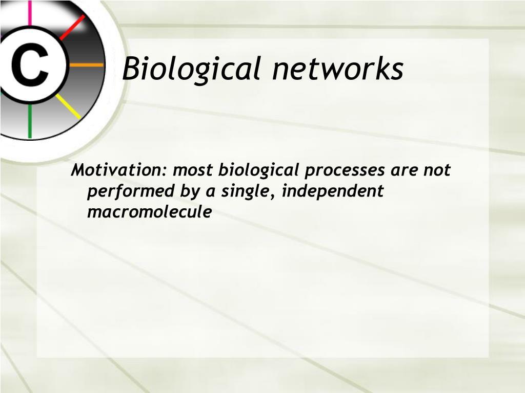 Biological networks