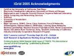 igrid 2005 acknowledgments