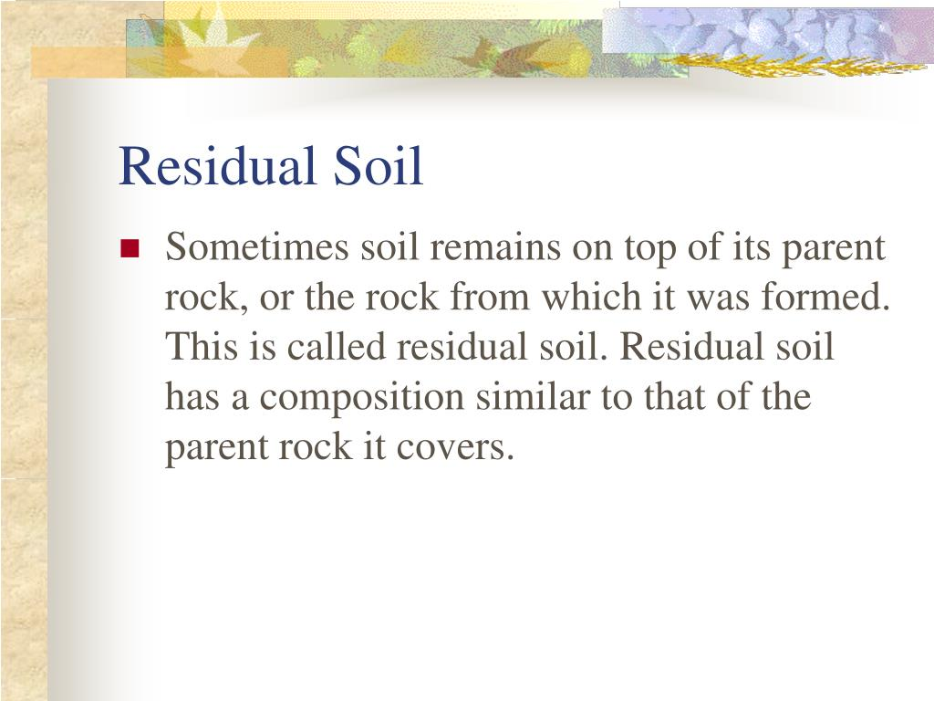 Soil formation ppt driverlayer search engine for Meaning of soil formation