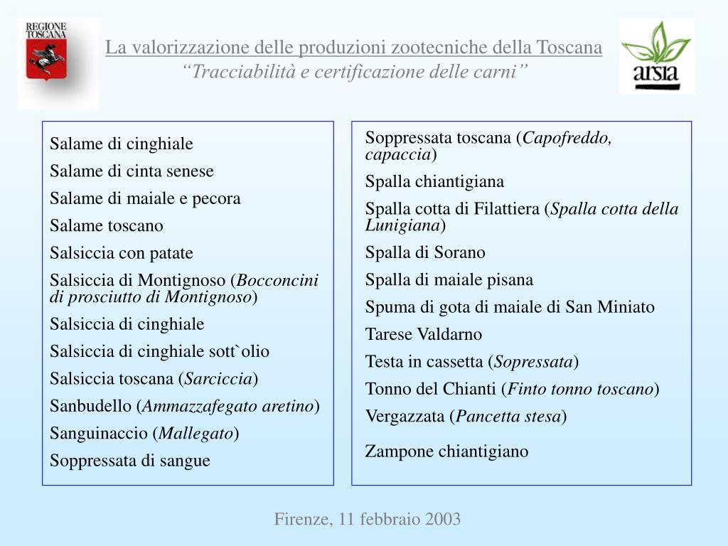 Soppressata toscana (