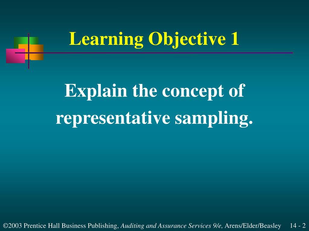 learning objecive