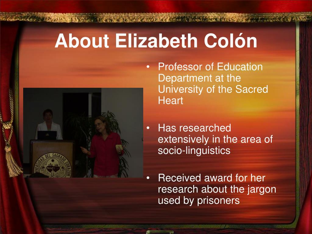 About Elizabeth Col