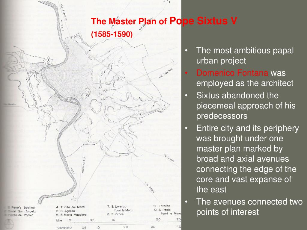 The Master Plan of