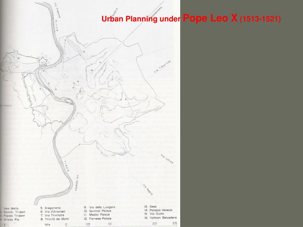 Urban Planning under