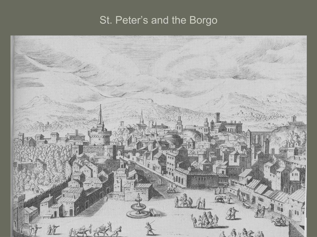 St. Peter's and the Borgo