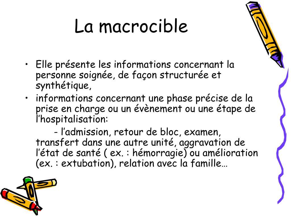 La macrocible