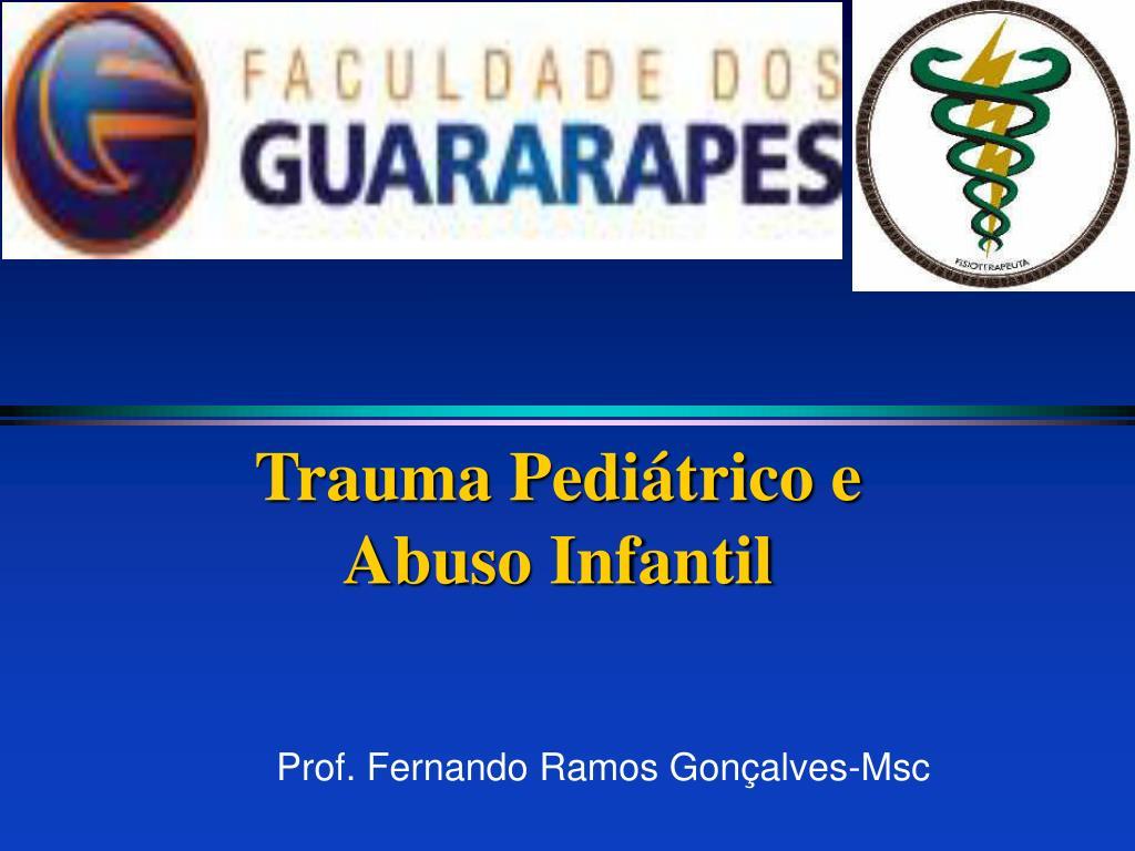 Trauma Pediátrico e