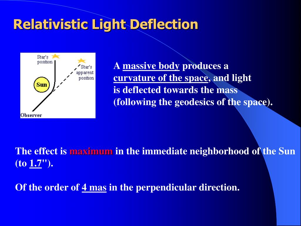 Relativistic Light Deflection