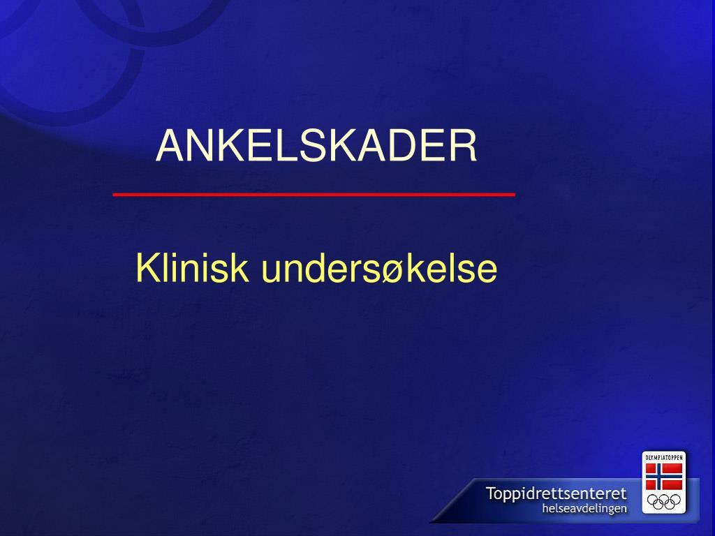 ANKELSKADER