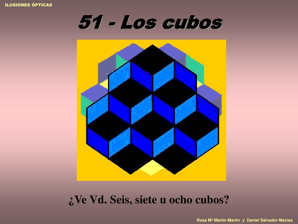 51 los cubos