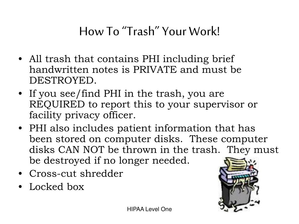"How To ""Trash"" Your Work!"
