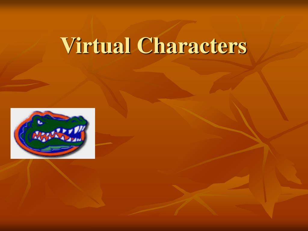 virtual characters