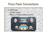 pony pack connections15