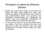 perception et cadres de r f rence absolus3