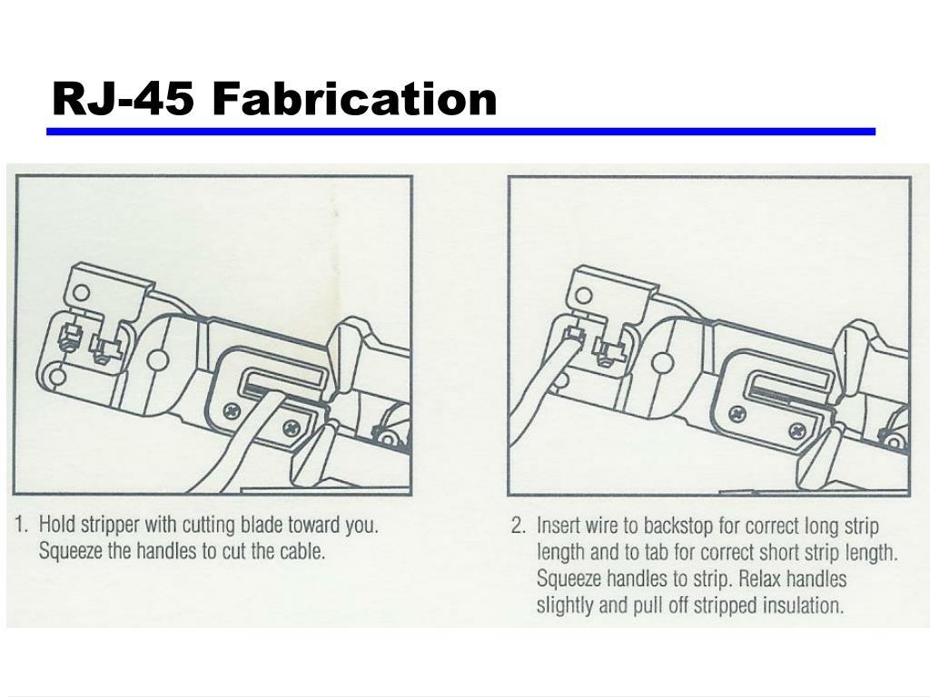 RJ-45 Fabrication