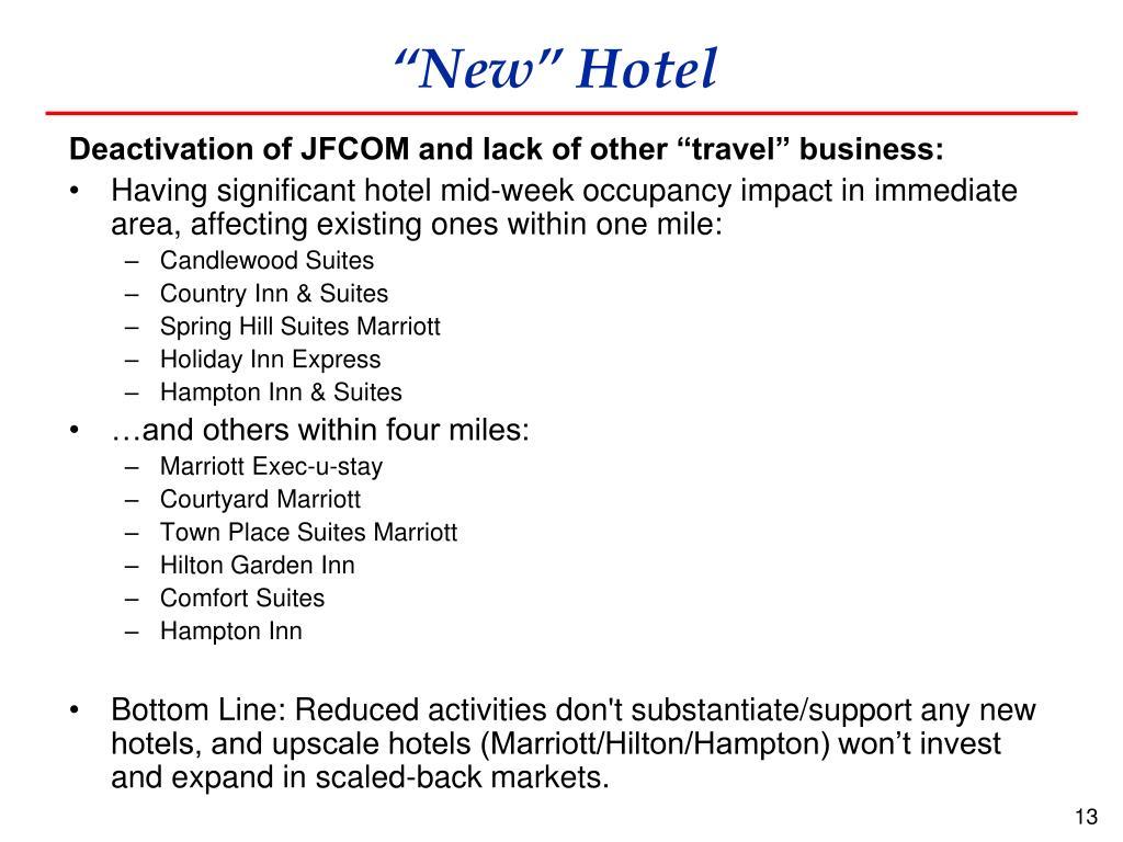 """New"" Hotel"