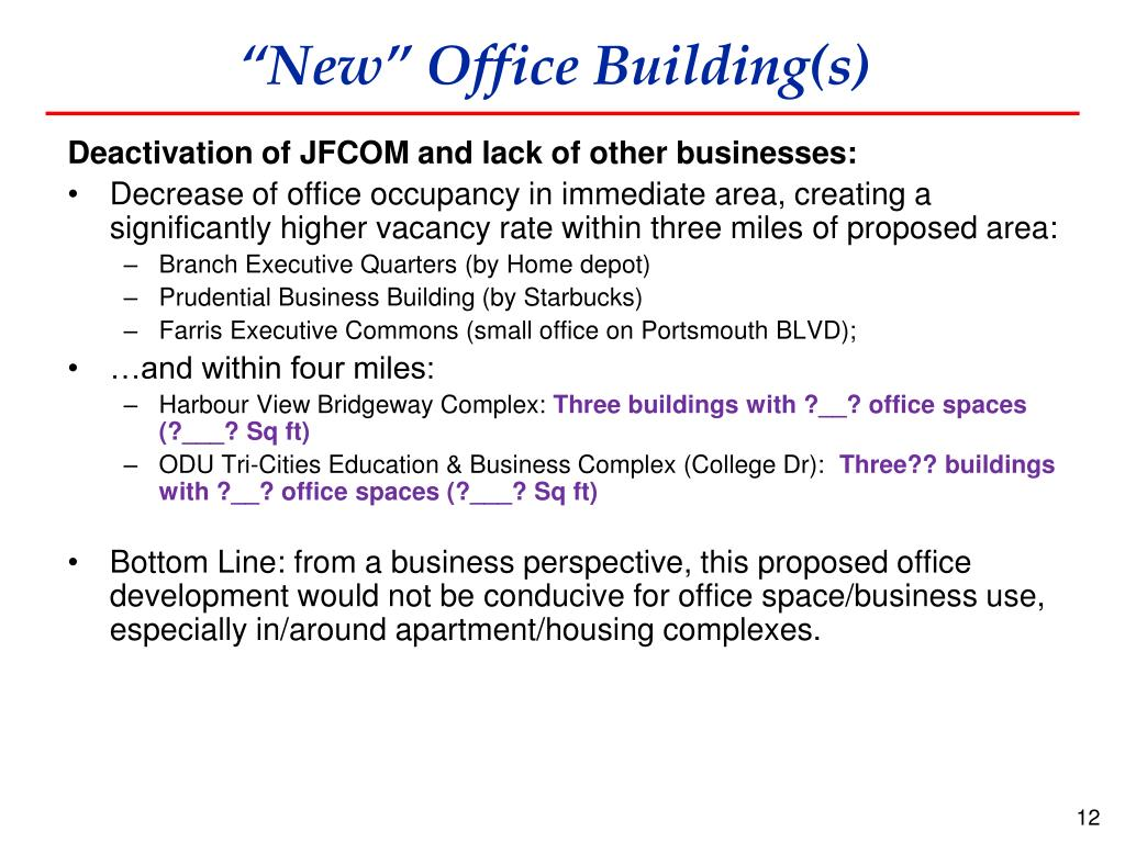 """New"" Office Building(s)"