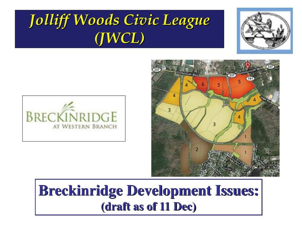 Jolliff Woods Civic League (JWCL)