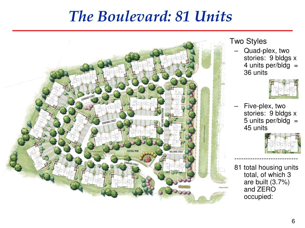 The Boulevard: 81 Units
