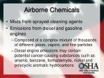 airborne chemicals