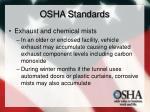 osha standards30