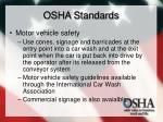 osha standards31