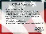 osha standards36