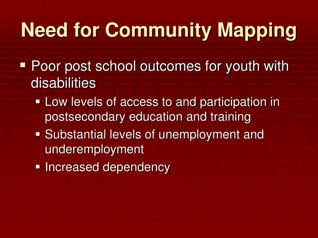 Poor post school outcomes for youth with disabilities