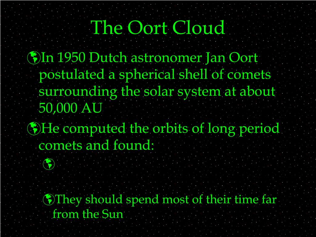 The Oort Cloud