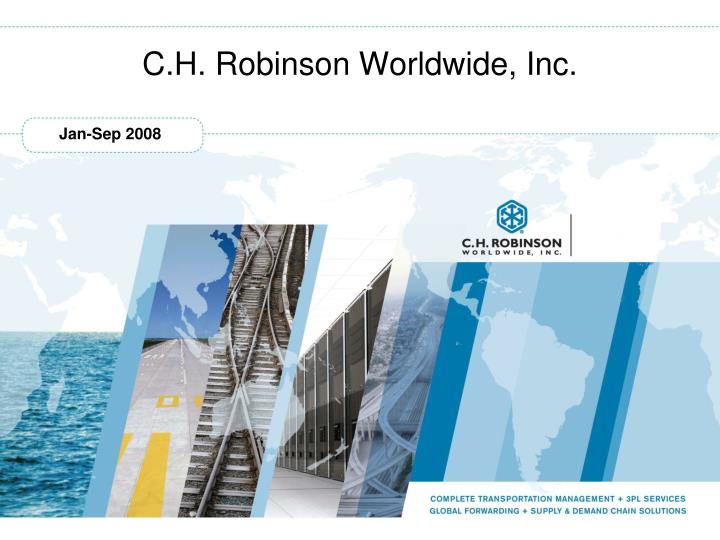 C h robinson worldwide inc