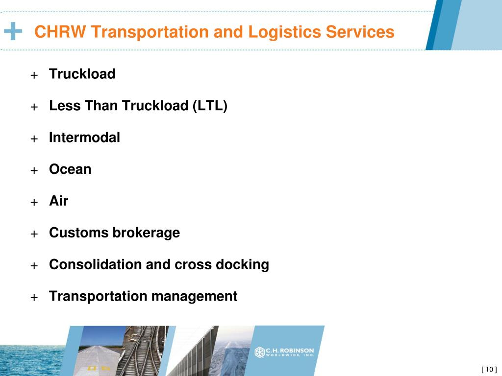 CHRW Transportation and Logistics Services